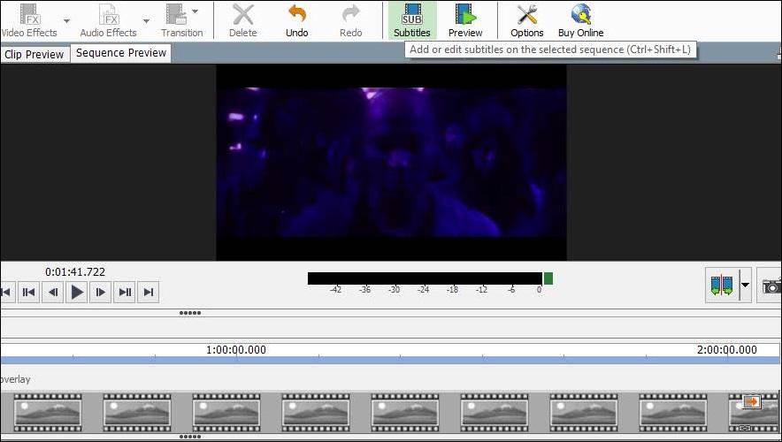 """ایجاد و ساخت زیرنویس فیلم ها با """" VideoPad """""""