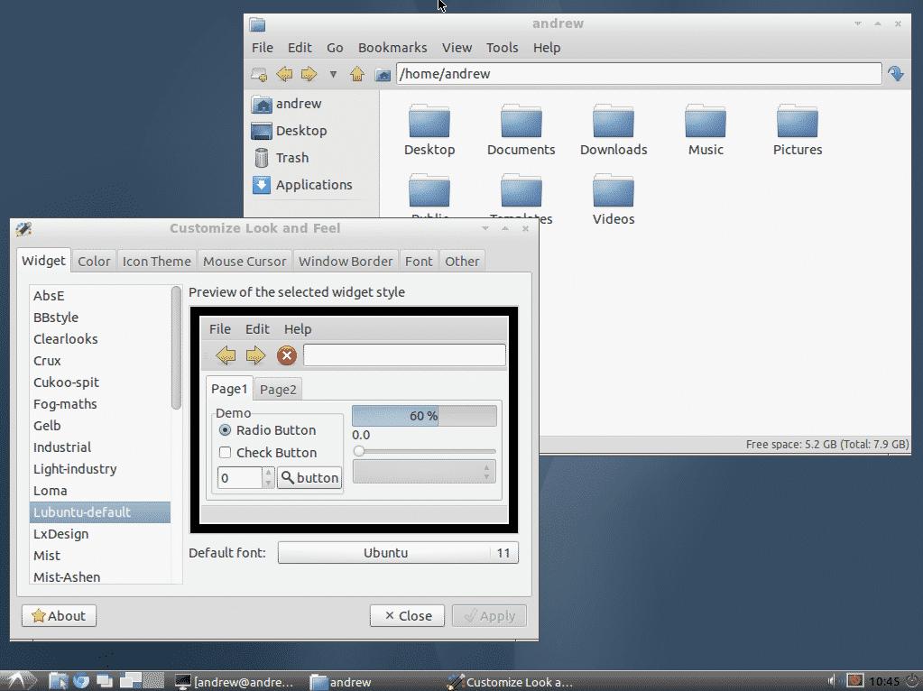 دانلود نسخه های سبک لینوکس - Lubuntu 11.10