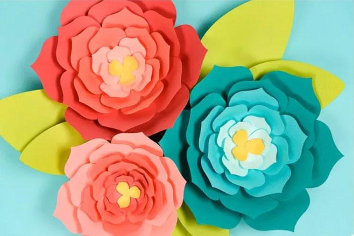 ساخت گل های تزئینی