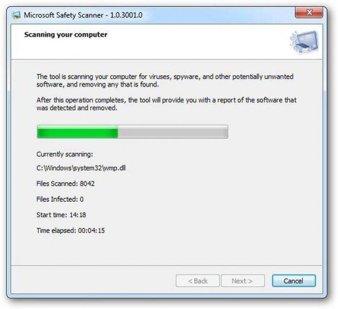 آنتی ویروس پرتابل - Microsoft Safety Scanner