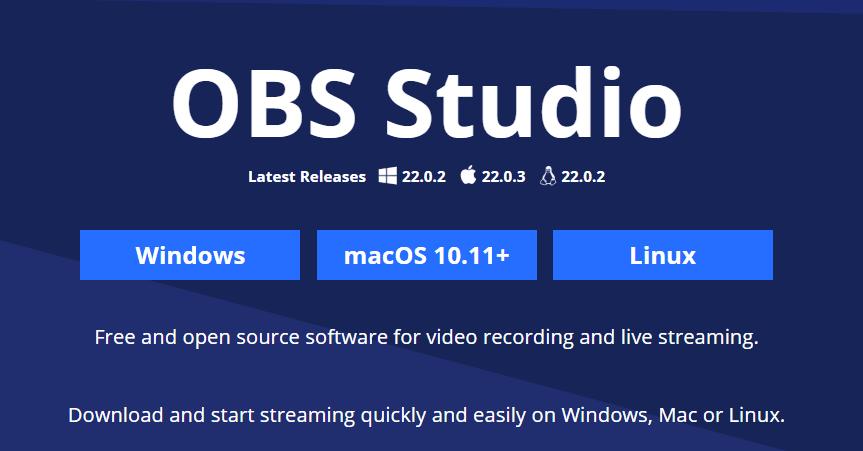نرم افزار ویرایش ویدیو YouTube با OBS Studio