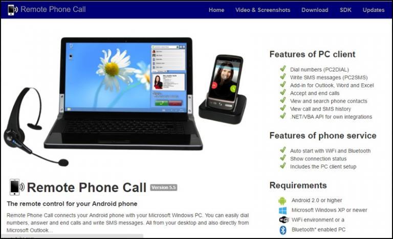 تبدیل کامپیوتر به تلفن حرفه ای