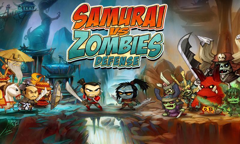 بهترین بازی های زامبی - SAMURAI vs ZOMBIES DEFENSE