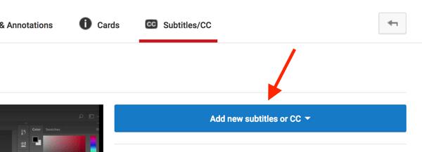 ساخت زیرنویس فیلم در یوتیوب