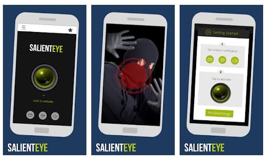 برنامه اندرویدی Salient Eye