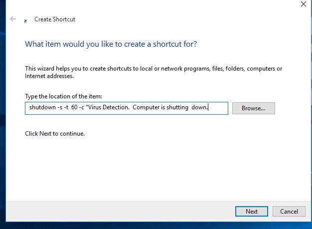 ساخت ویروس خاموش کردن سیستم با Notepad