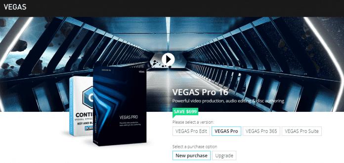 نرم افزار ویرایش ویدیو YouTube با Sony Vegas Pro