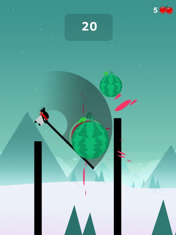 بازی کم حجم Stick Hero