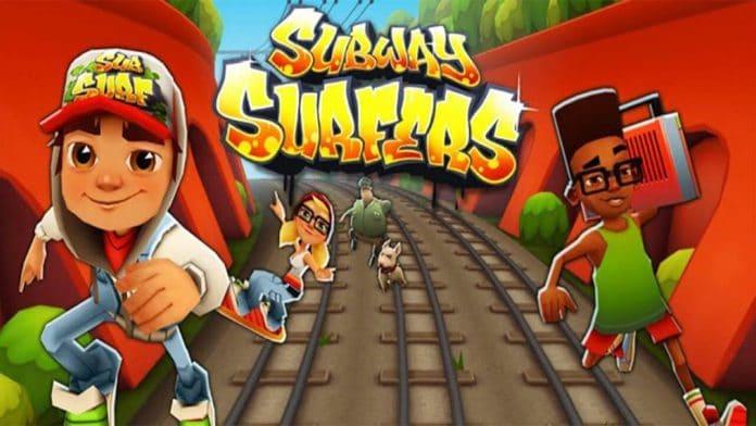 بهترین بازی های برتر آیفون - Subway Surfers