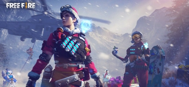 بهترین بازی های برتر آیفون - Garena Free Fire: Winterlands