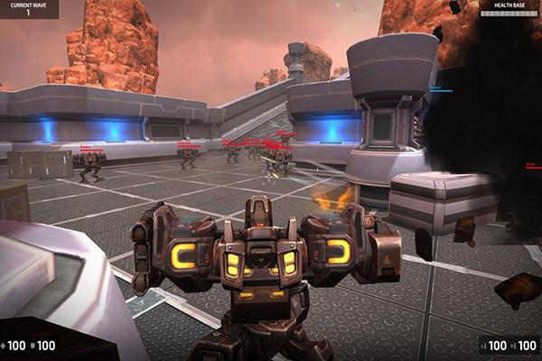 Steel Arena Robot War به جنگ روبات ها بروید: