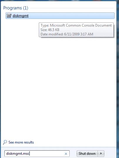 پارتیشن بندی فلش مموری در ویندوز با استفاده از Disk Management