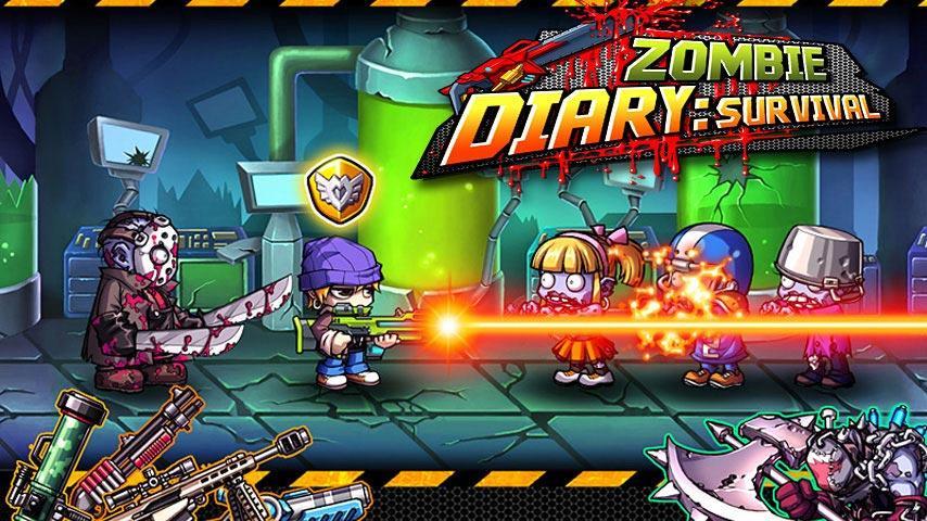 بهترین بازی های زامبی - Zombie Diary