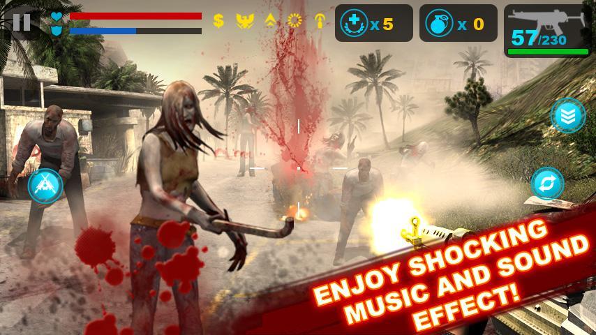 بهترین بازی های زامبی - Zombie Frontier