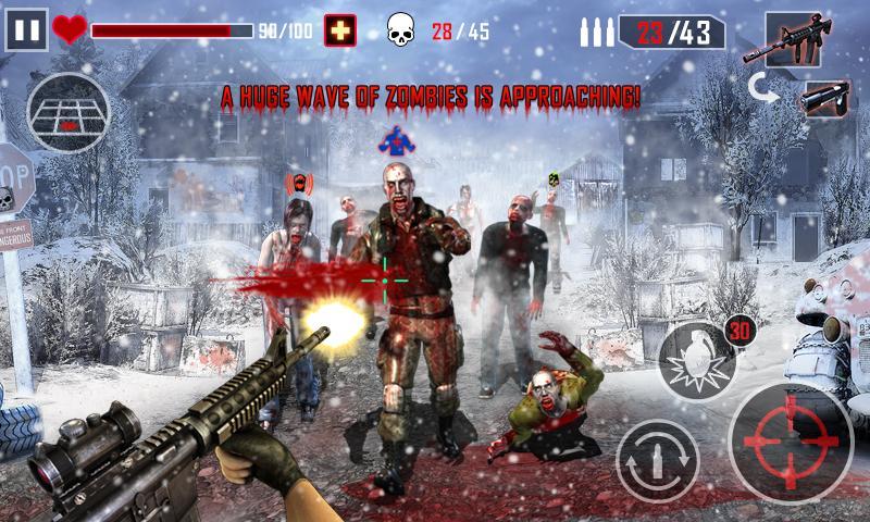 بهترین بازی های زامبی - Zombie Killer