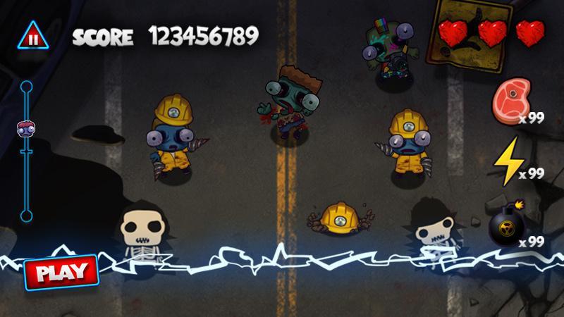 بهترین بازی های زامبی - Zombie Smasher