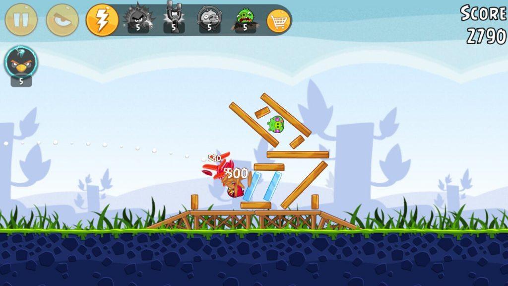 بازی اندرویدی Angry Bird Classic