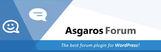 افزونه Asgaros Forum