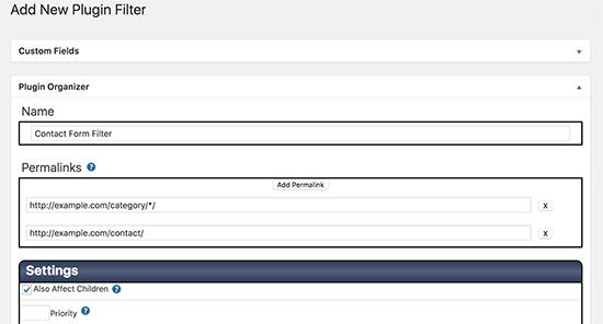 افزایش سرعت سایت وردپرس با Plugin Organizer
