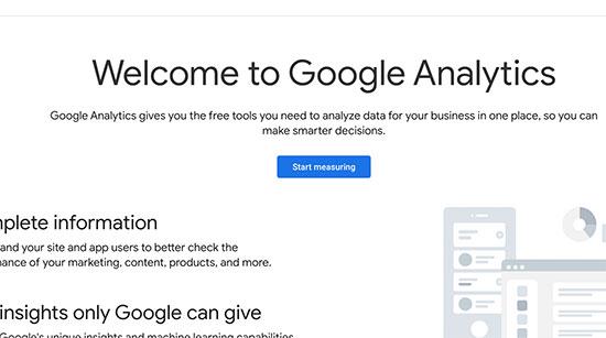 نحوه ثبت نام در گوگل آنالیتیکس