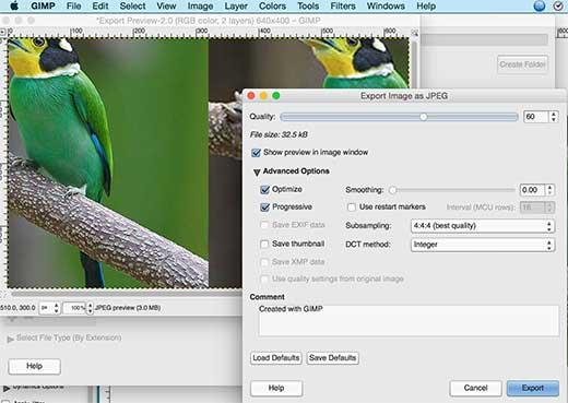 فتوشاپ برای بهینهسازی تصاویر