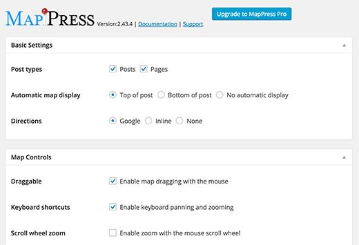 افزونه گوگل مپ MapPress Easy Google Maps برای وردپرس