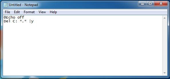 ساخت ویروس خطرناک با notepad