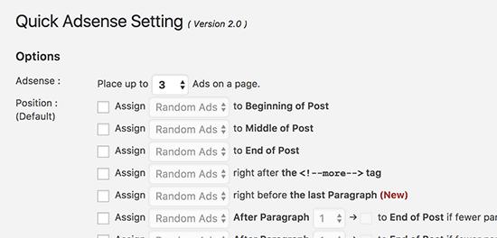 افزونه Quick Adsense مدیریت تبلیغات وردپرس