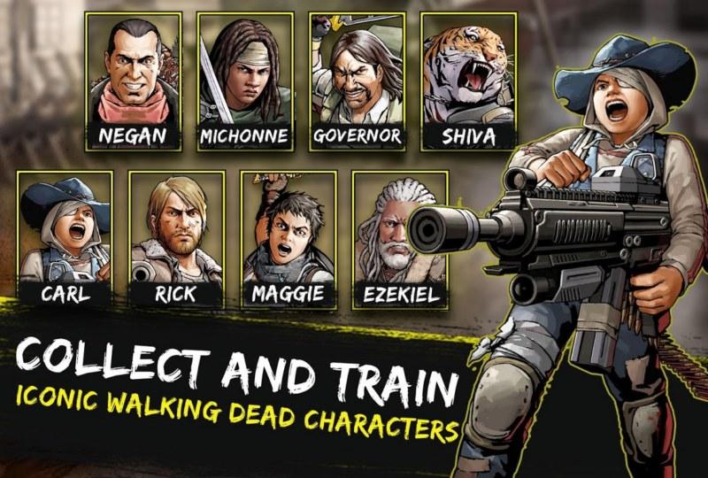 بازی استراتژیک کم حجم The Walking Dead: Road to Survival