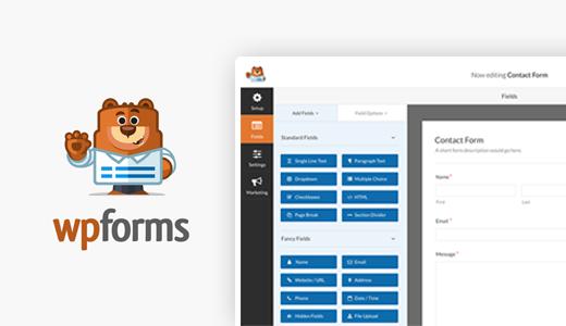 افزونههای برتر وردپرس برای بازاریابها - WPForms