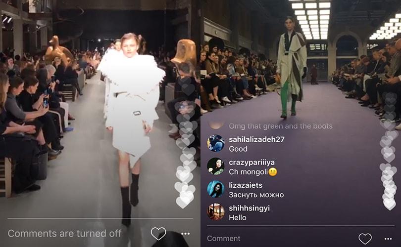 چگونه یک فیلم زنده در Instagram را شروع کنیم؟