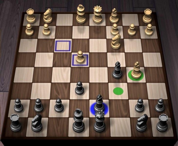بازی شطرنج آفلاین دون نفره اندروید