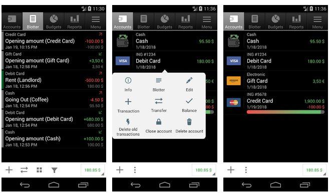 اپلیکیشن مدیریت مالی