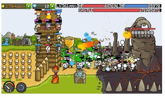 بازی Grow Castle