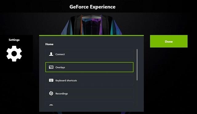 نرم افزار NVIDIA GeForce Experience