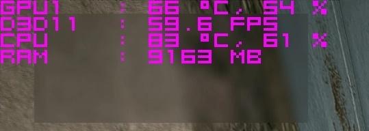 نمایش فریم ریت درون بازی کامپیوتری