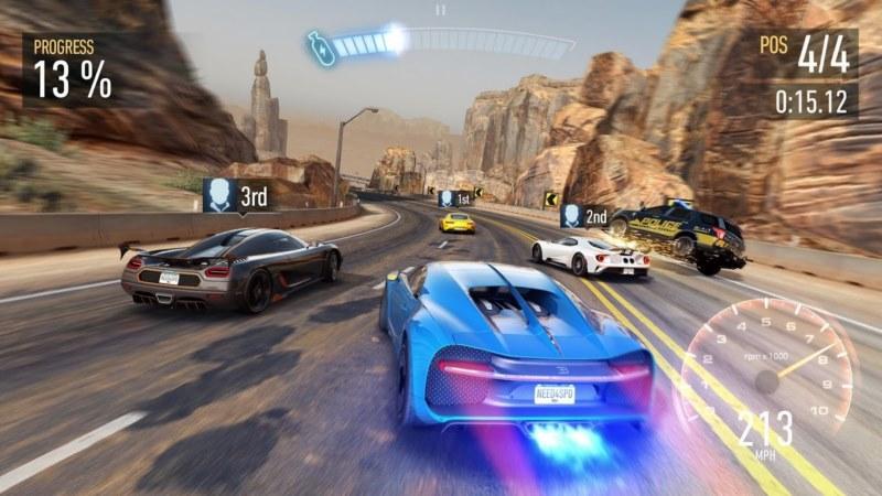 گرافیکی ترین بازی ماشین اندروید - Need for Speed No Limits