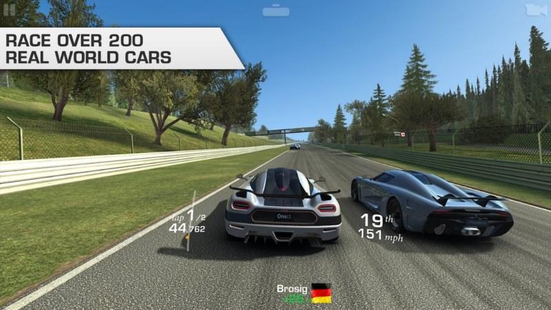 بازی ماشین Real Racing 3