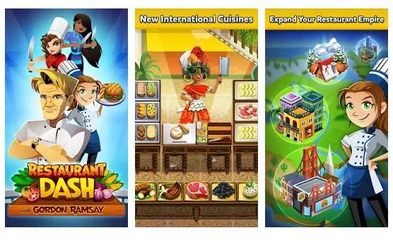 بازی آشپزی رستوران Restaurant Dash