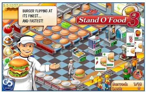 بازی Stand O'Food 3