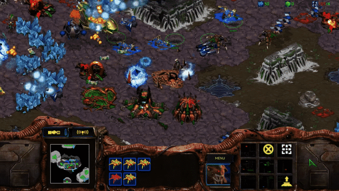 بازی StarCraft HD