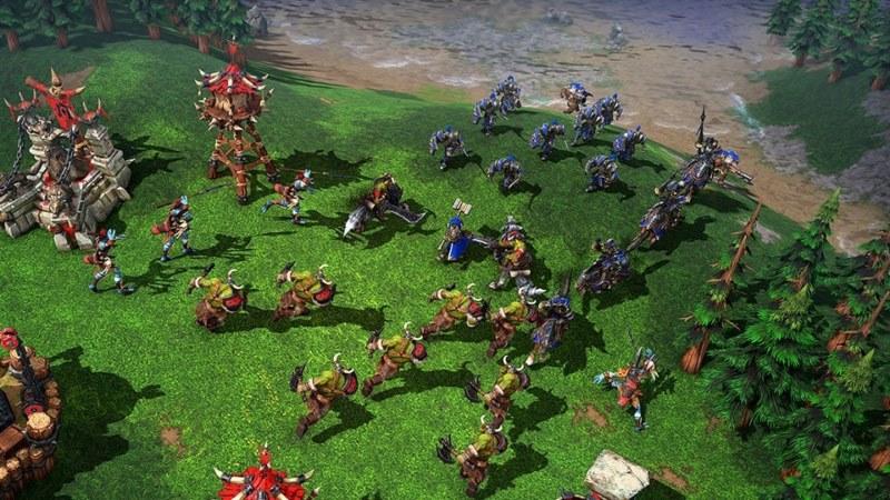 بازی محبوب Warcraft III
