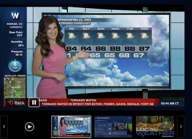 برنامه هواشناسی PS4