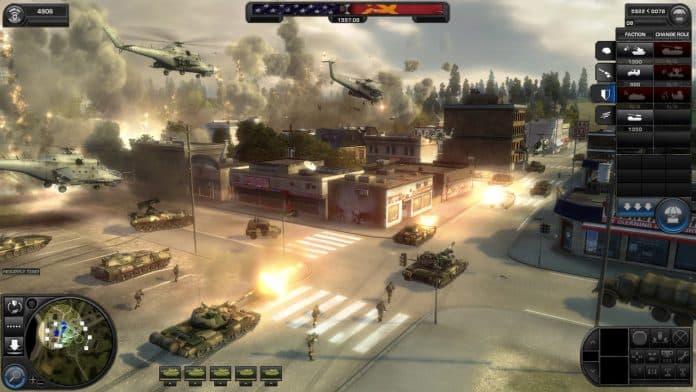 بازی استراتژیک World in Conflict