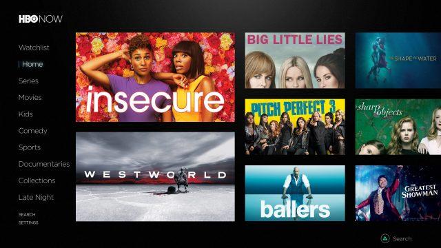 نرم افزار HBO NOW پلی استیشن 4
