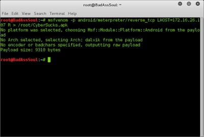 هک کردن اندروید با کالی لینوکس