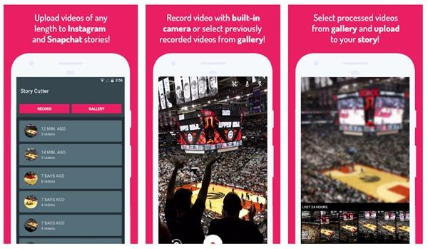 برنامه Story Cutter for Instagram برای اندروید