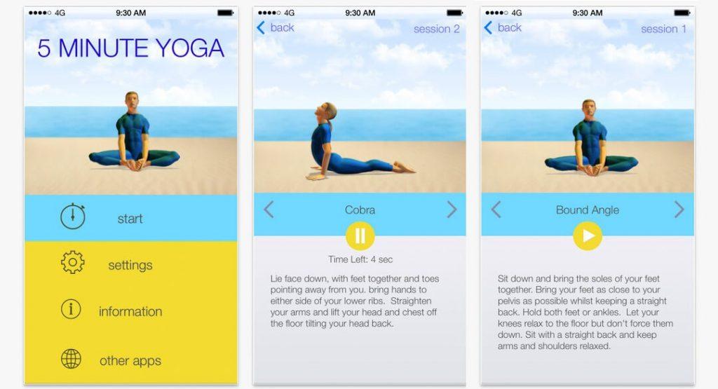 اپلیکیشن ورزش Yoga