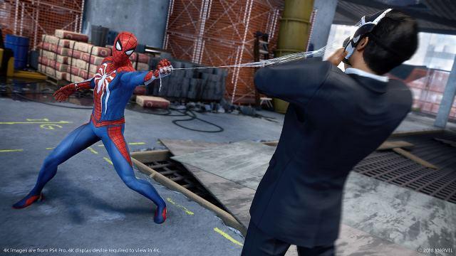 بازی تک نفره Marvel's Spider-Man