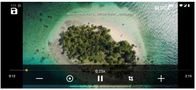 برنامه Slow Motion Video Zoom Player